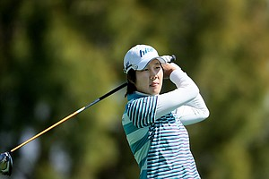 Song-Hee Kim shot 69 in the first round of the Kraft Nabisco Championship.