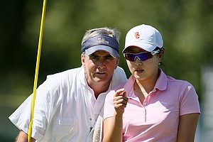 Jennifer Song was one of seven amateurs at the Kraft Nabisco Championship.