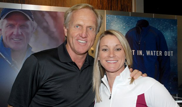Greg Norman and Kristy McPherson