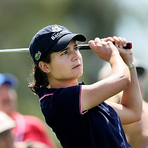 Lorena Ochoa is tied for second at 6 under. She also announced Friday the launch of the Lorena Ochoa Golf Foundation.