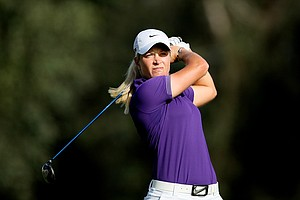 Suzann Pettersen posted a 67 for the third round.