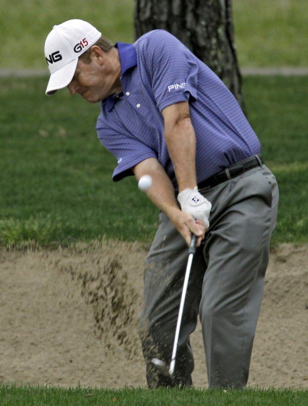 Texan Jeff Maggert is in contention at the Shell Houston Open.
