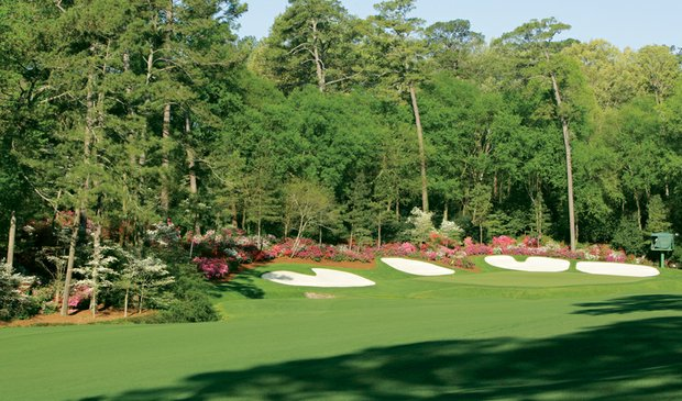 No. 13 at Augusta National.
