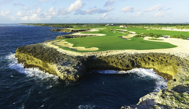 No. 8 at Corales Golf Club