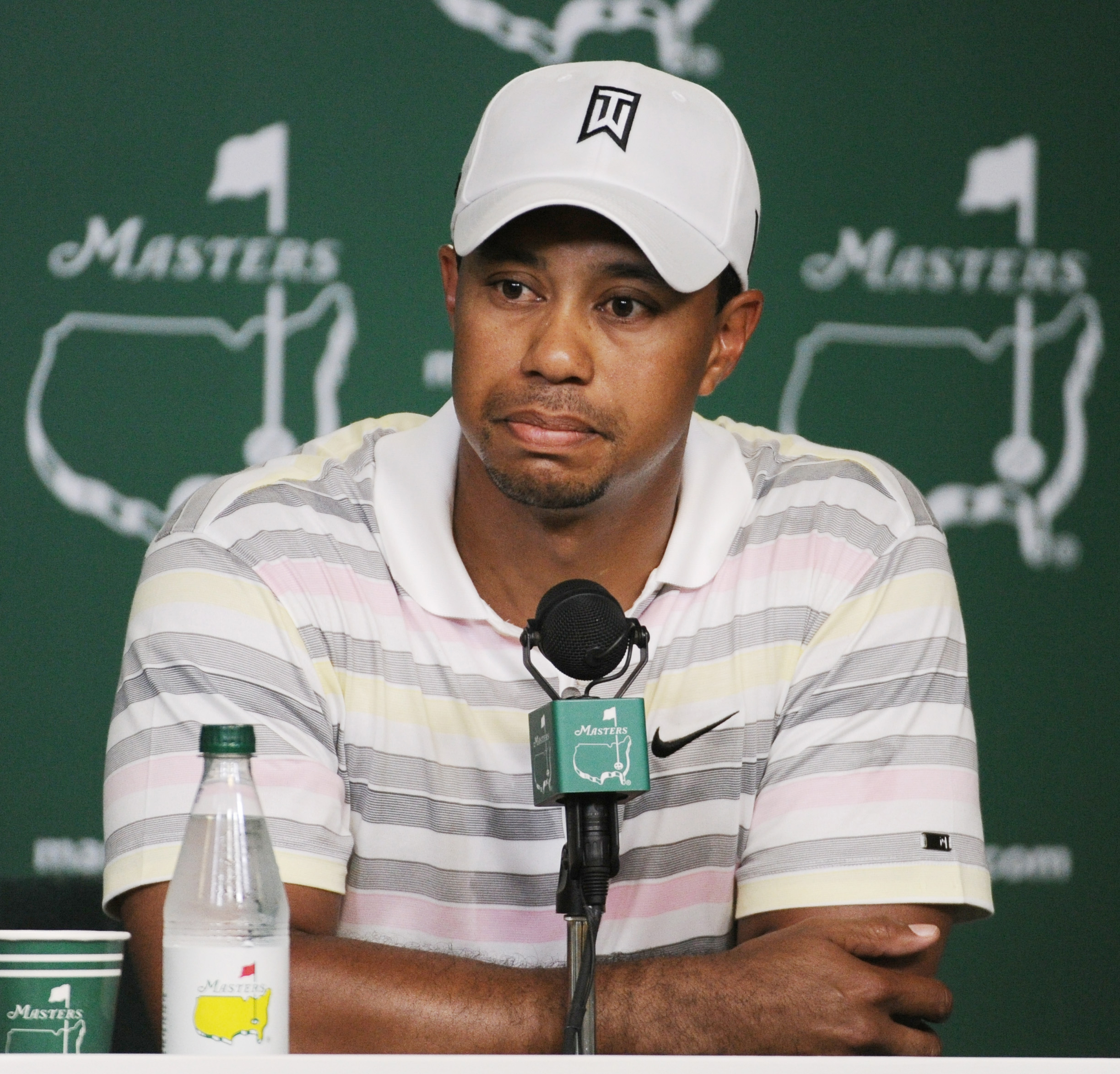 Tiger Woods answered questions in a press conference Monday for the first time since his Thanksgiving night accident that led to revelations of multiple extramarital affairs.