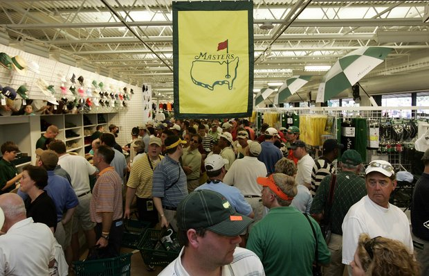 A look inside the Masters gift shop. (File photo)