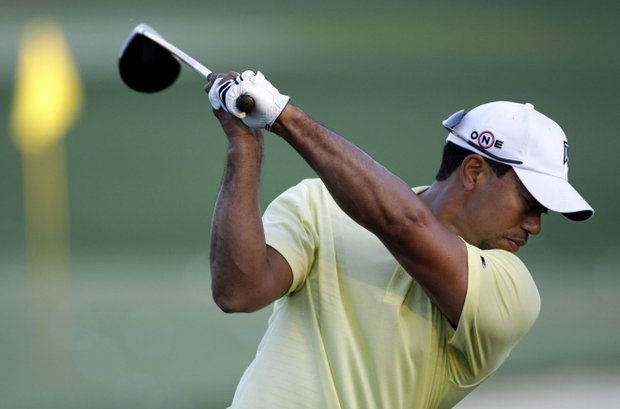 Tiger Woods tees off at 1:42 p.m. Thursday.