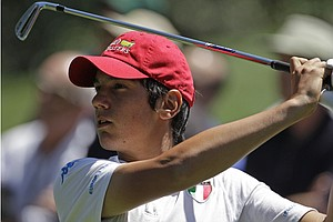 Matteo Manassero was the only amateur to make the cut at Augusta.
