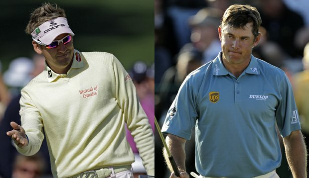 Ian Poulter and Lee Westwood