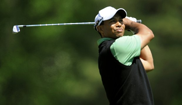 Tiger shot 70 on Friday and is two shots back of the leaders heading into the weekend.