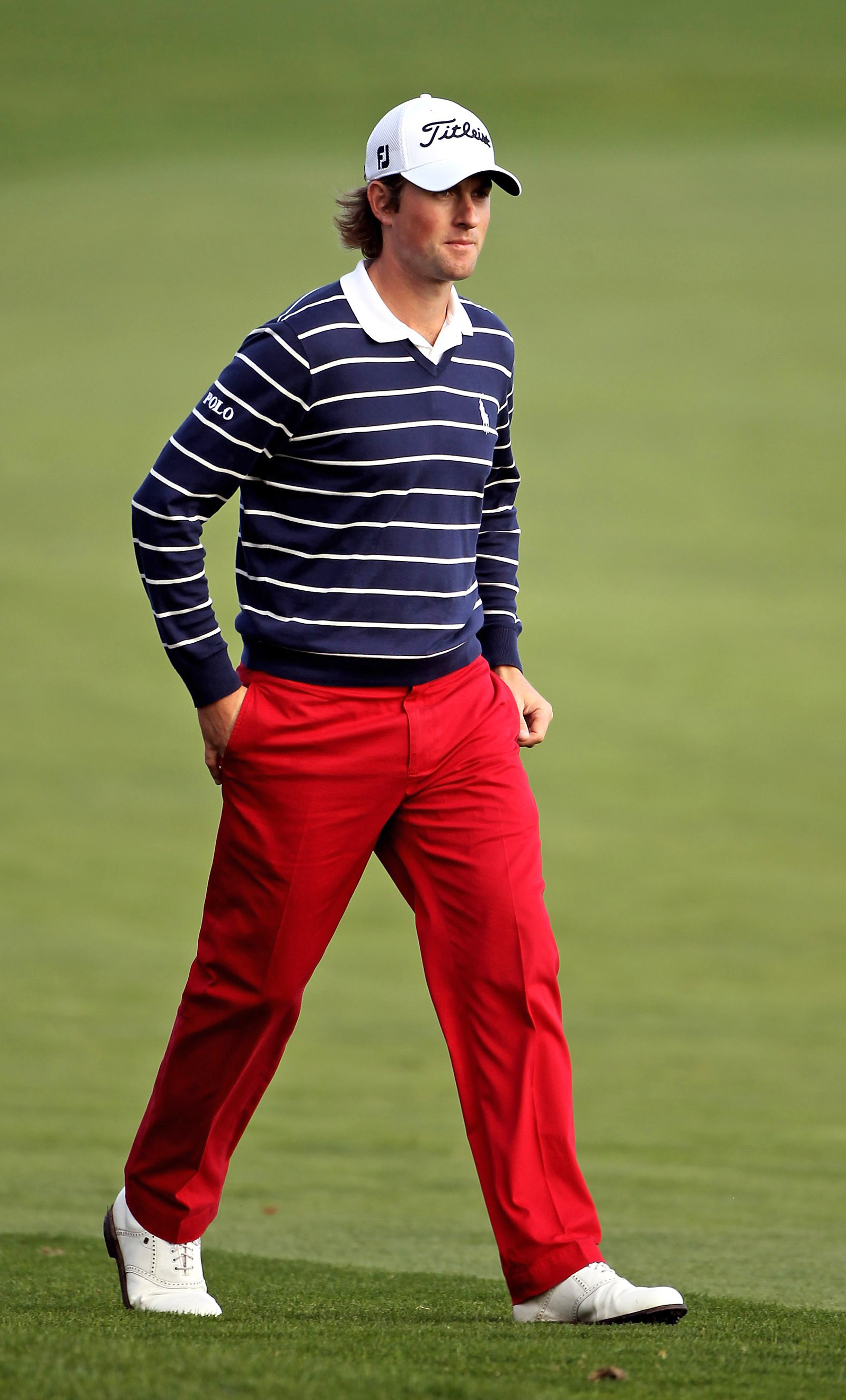 Webb Simpson during the 2010 AT&T Pebble Beach National Pro-Am.