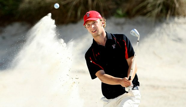 Texas Tech's Nils Floren is in the hunt at the Aggie Invitational. (File photo)