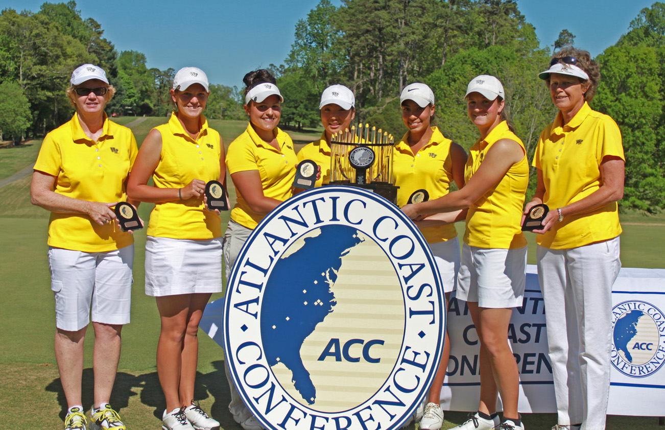 Wake Forest won the ACC Championship on April 18.