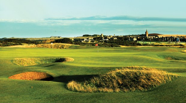 No. 13 at St. Andrews' Old Course