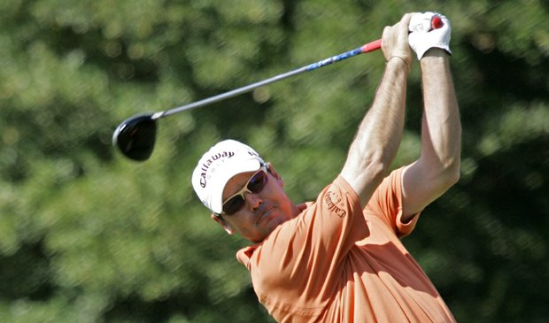 Rich Beem during the first round of the 2008 Children's Miracle Network Classic.
