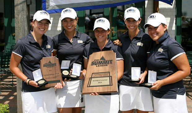 Oral Roberts won the Summit League title on April 20.