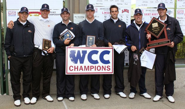 Pepperdine won the West Coast Conference Championship on April 20.