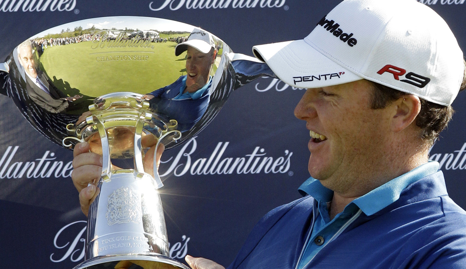 Marcus Fraser broke a 7-year title drought with his Ballantine's win.