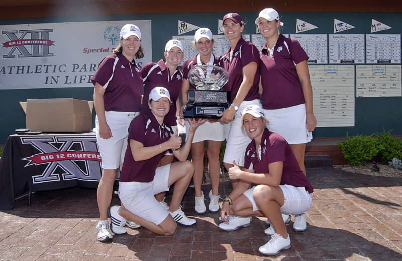 Texas A&M completed the largest final-round comeback in Big 12 Women's Championship history.