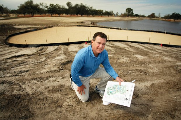 Former Tour player Kelly Gibson is consulting on the Joseph Bartholomew reconstruction.