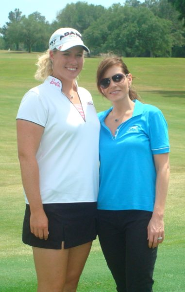 Brittany Lincicome and Kara DioGuardi