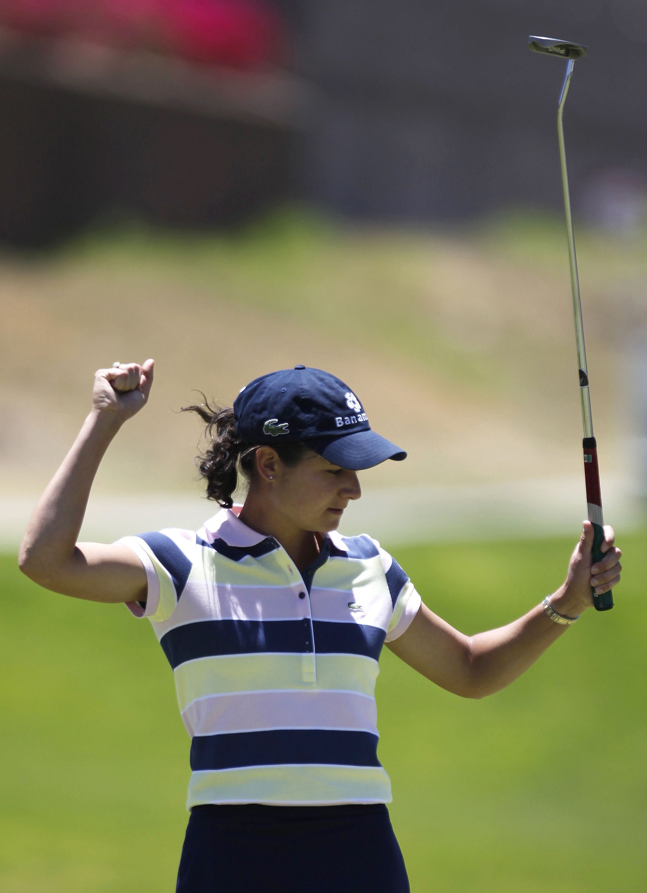 Lorena Ochoa is three shots back at the Tres Marias Championship.