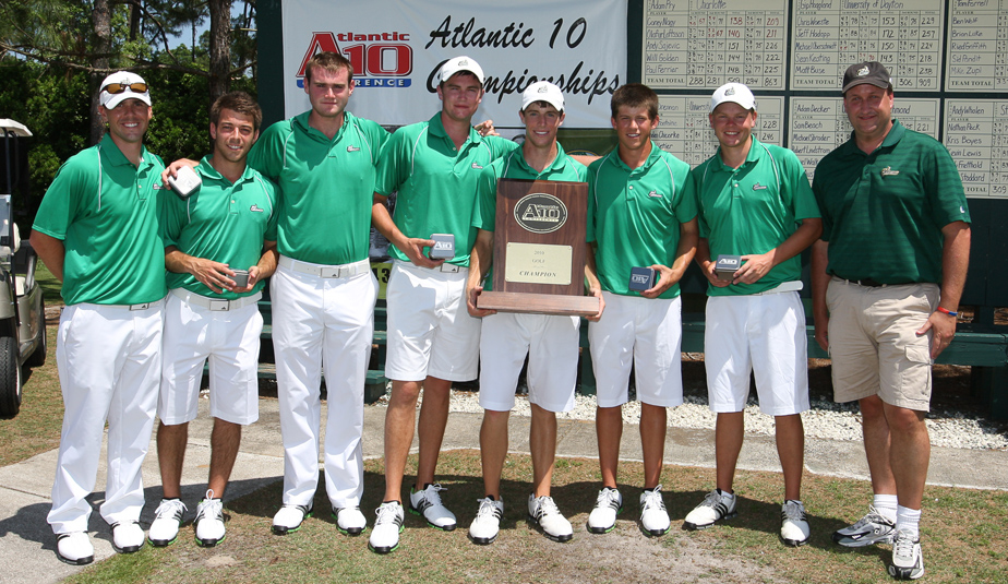 Charlotte won the Atlantic 10 Championship for the fifth consecutive time.