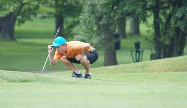 La Salle golfer Ed Carnes