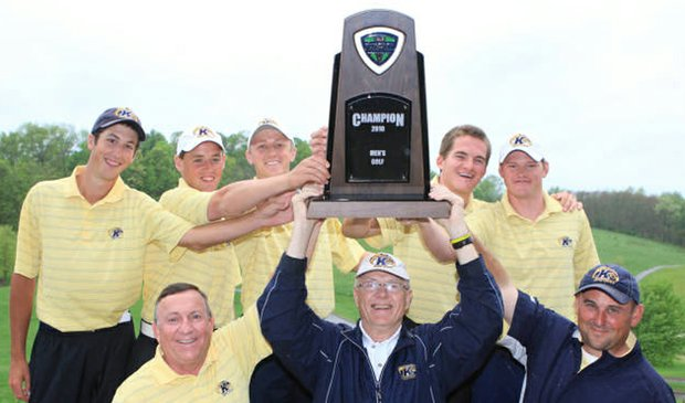 Kent State won the Mid-American Conference Championship on May 2.
