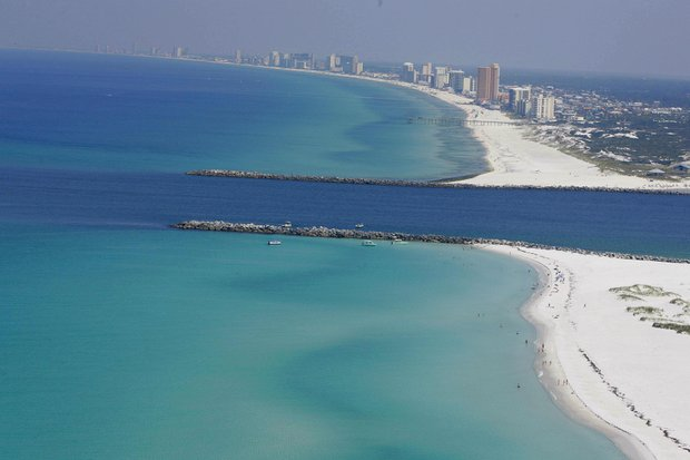 Panama City Beach coastline