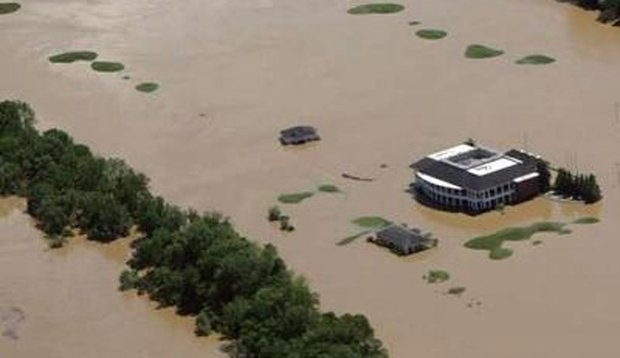 Gaylord Springs Golf Links in Nashville, Tenn., was hit hard by severe floods last weekend.