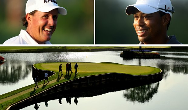 Phil Mickelson, Tiger Woods and the Stadium Course's 17th hole