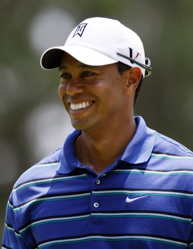 Tiger Woods shot 70 in the first round of The Players.