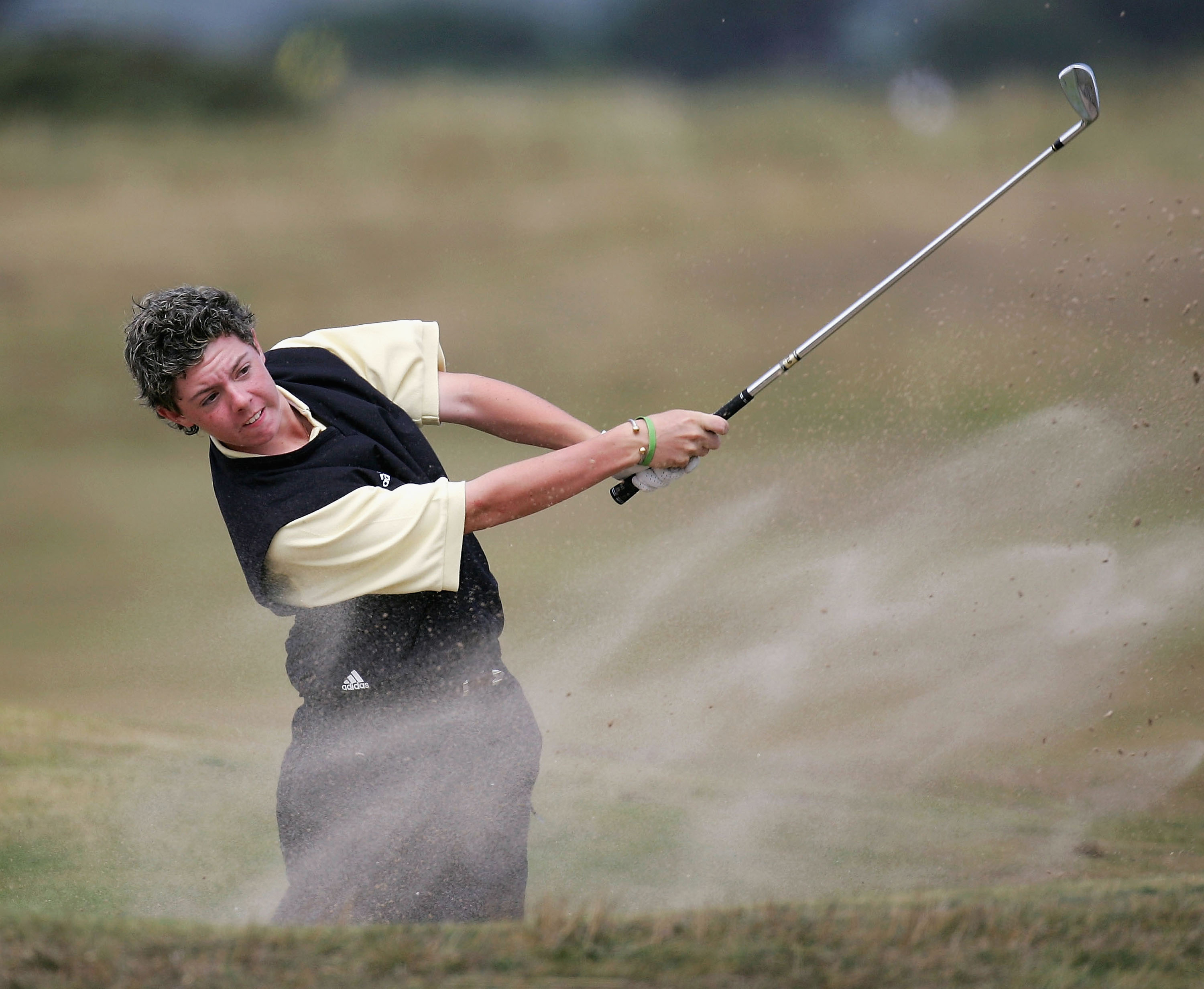 Rory McIlroy at the 2004 Boys Home Internationals at the Portmarnock (Ireland) Golf Club.