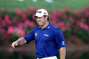 Lee Westwood is the third round leader with a one stroke lead over Robert Allenby, who shot a 67 Saturday.