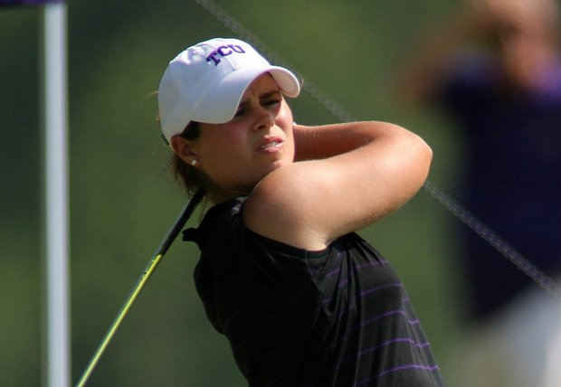 Valentine Derrey led TCU with rounds of 69-75-72 to tie for ninth individually.