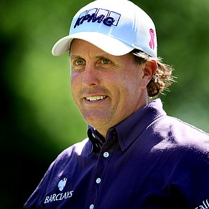 Phil Mickelson during the final round of The Players Championship. Mickelson finished T17.