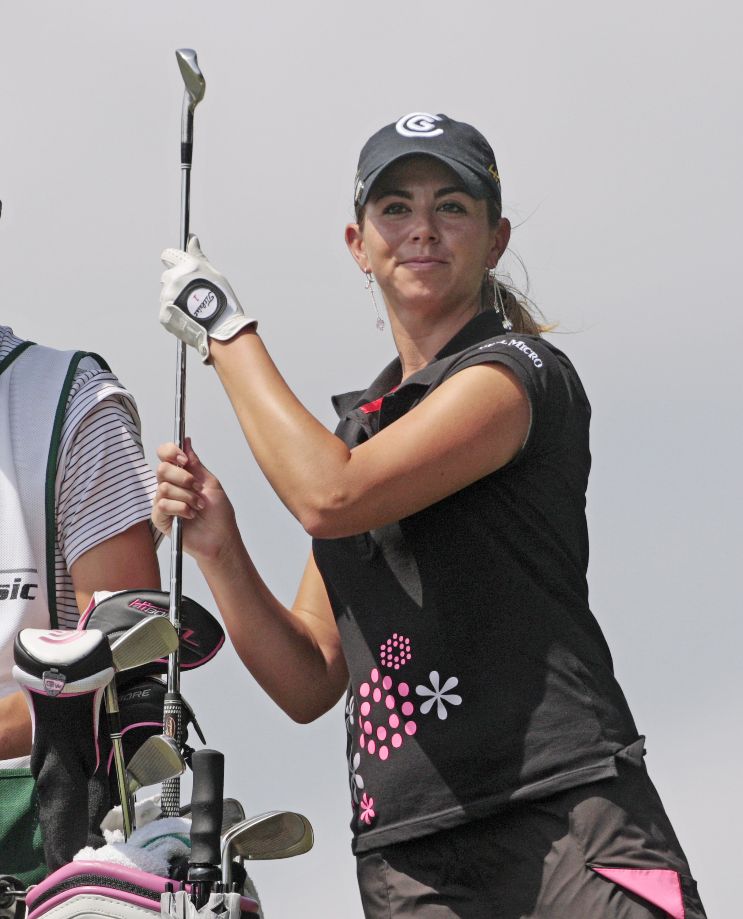 Erica Blasberg during the 2008 Bell Micro LPGA Classic.
