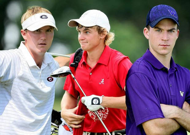 (Left to right) Russell Henley, Bud Cauley and Nick Taylor