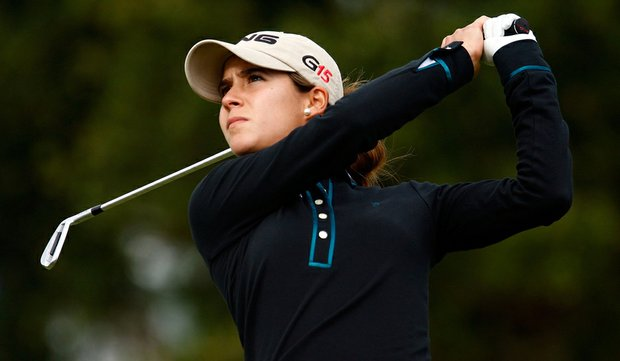 Azahara Munoz at the LPGA Q-School in December.
