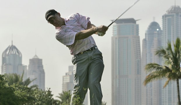 James Kingston at the 2008 Dubai Desert Classic.
