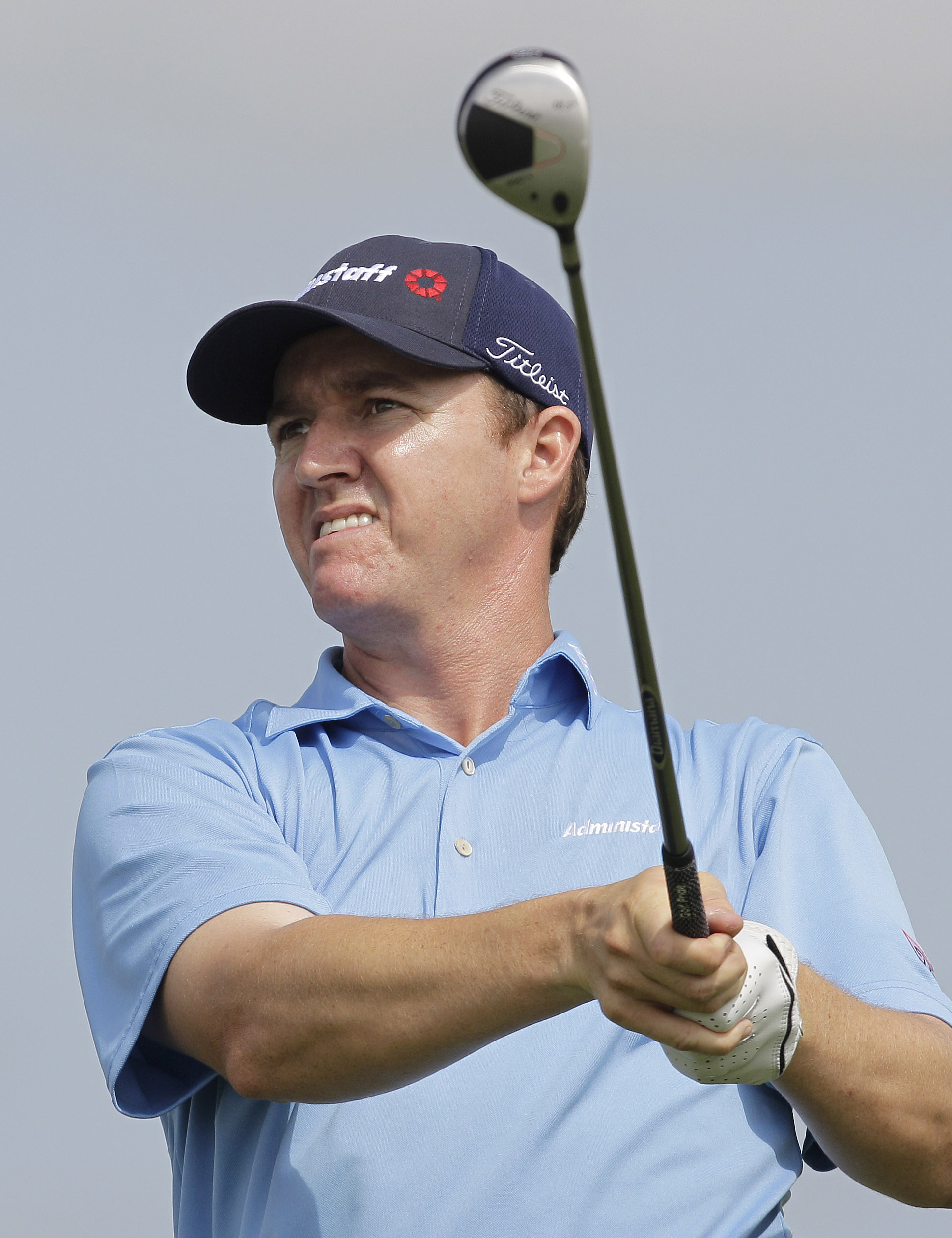 Jimmy Walker has a share of the lead at the Valero Texas Open.