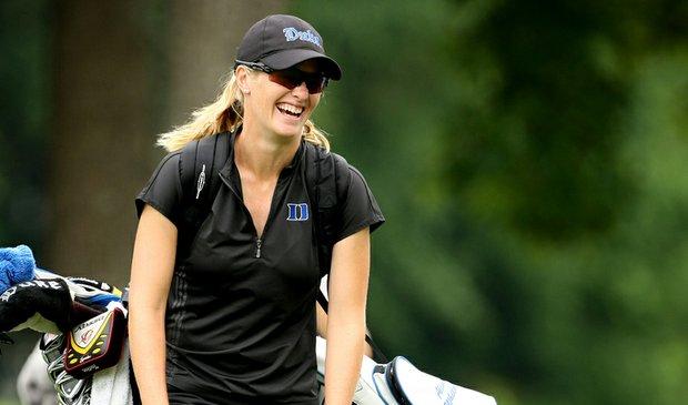 Duke senior Alison Whitaker during Round 2 at the NCAA Women's Championship.