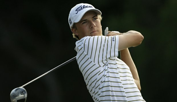 Jordan Spieth at the 2010 Byron Nelson Championship