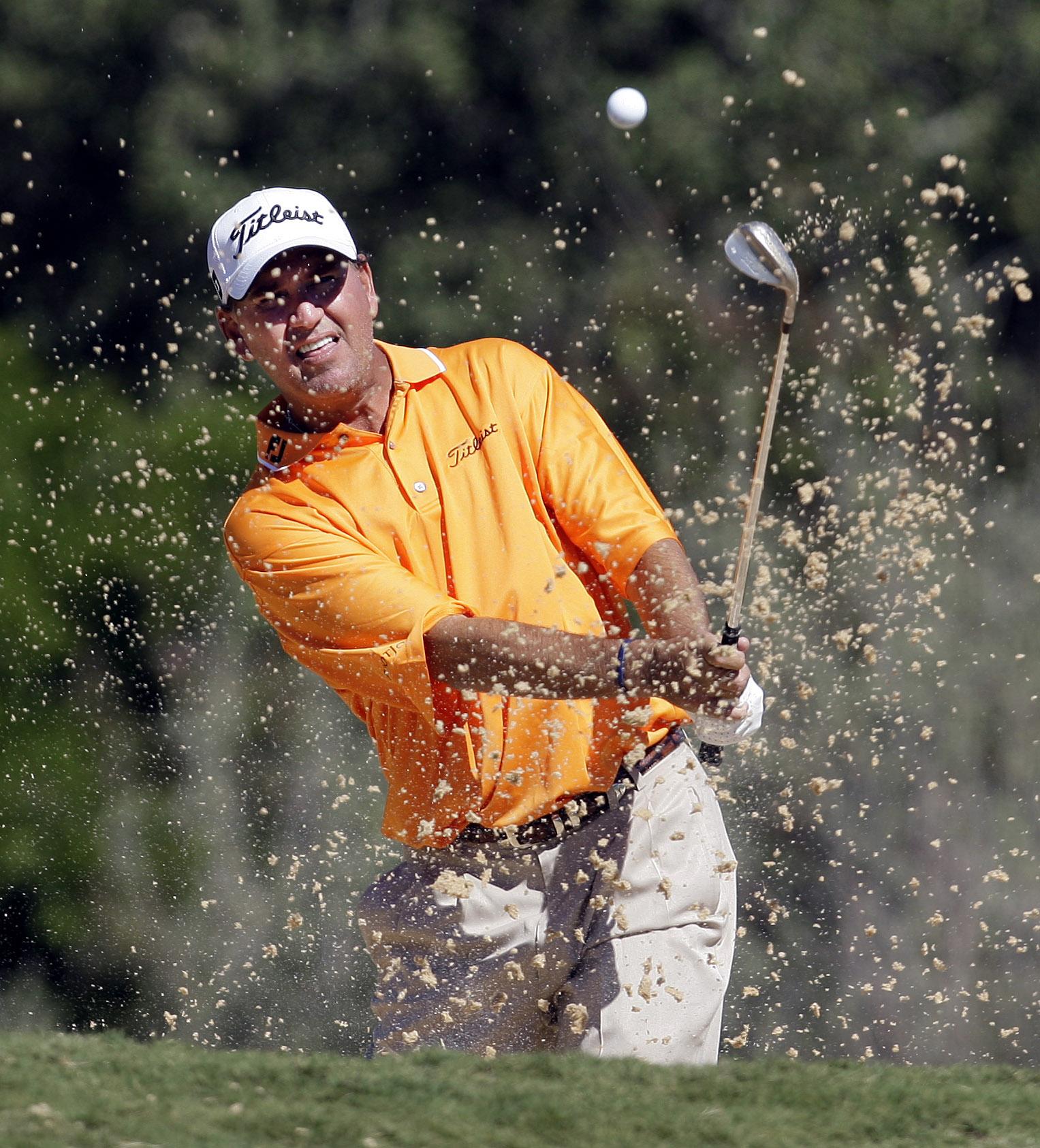John Riegger at the 2008 Texas Open.