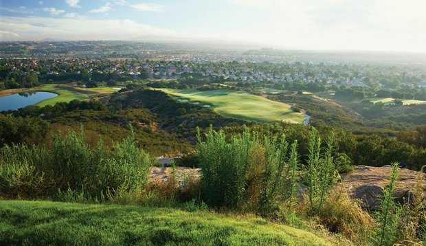 Like the games onsite, the sixth hole at The Journey at Pechanga provides plenty of risk-reward.