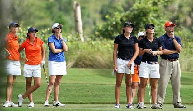 Florida and LSU during the 2009 NGCA Hooters Match Play Championship.
