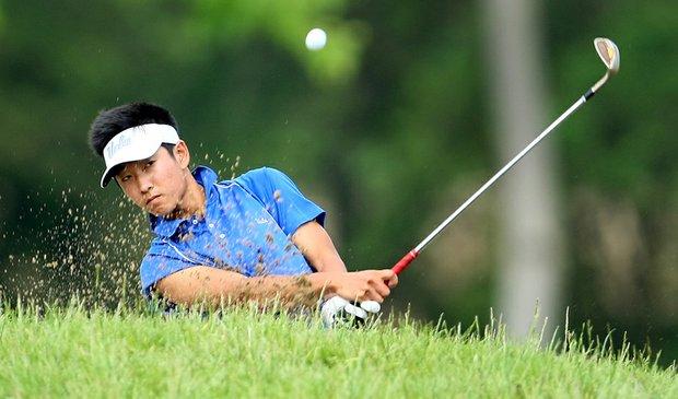UCLA sophomore Alex Kim