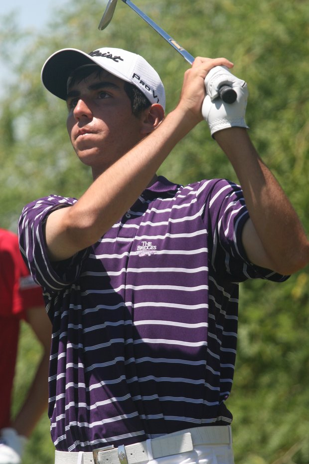 Anthony Paolucci won the AJGA Thunderbird International.