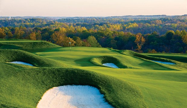 Pete Dye Course at French Lick.